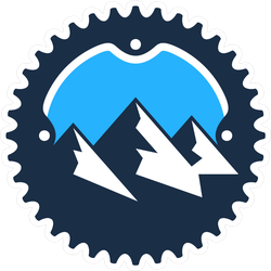 Mountain Bike Gear Sticker