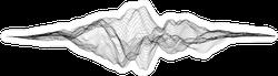 Music Sound Waves Sticker
