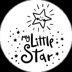 My Little Star Sticker