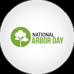 National Arbor Day Sticker