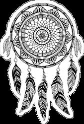 Native American Dream Catcher Sticker