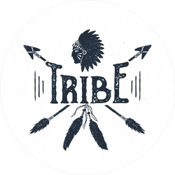 Native American Tribe Sticker