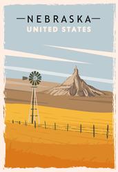 Nebraska Travel Sticker