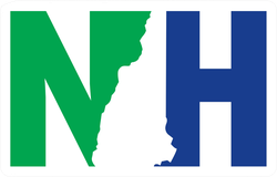 New Hampshire NH State Sticker