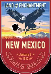 New Mexico Banner Sticker