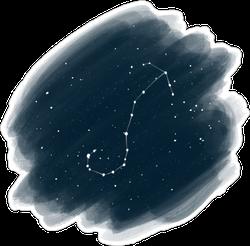 Night Sky Zodiac Sticker