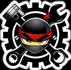 Ninja Auto Parts JDM Sticker
