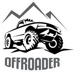 Offroader Sticker
