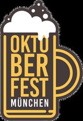 Oktoberfest Beer Mug Sticker