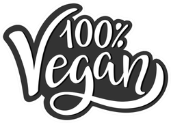 One Hundred Percent Vegan Monochrome Sticker