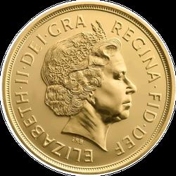 One Pound Coin Sticker