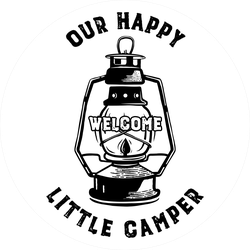 Our Happy Little Camper Sticker