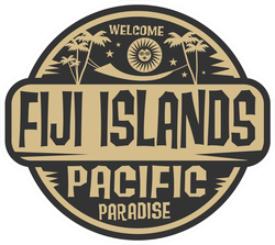 Pacific Paradise Fiji Islands Sticker