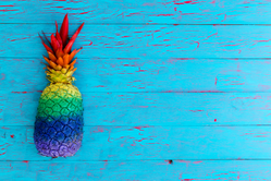 Painted Pineapple Sticker