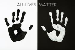 Palm Prints All Lives Matter Sticker