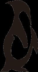 Penguin Animal Logo Sticker