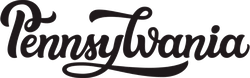 Pennsylvania Script Sticker