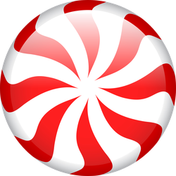 Peppermint Candy Sticker
