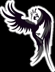 Pheonix Logo Sticker