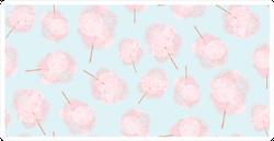 Pink Sweet Cotton Candy Sticker