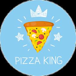 Pizza King Sticker