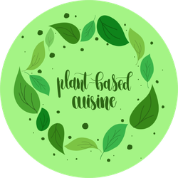 Plant Based Cuisine Sticker