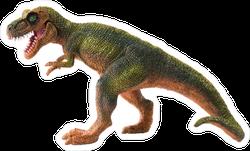 Plastic Dinosaur Toy Sticker