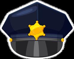 Classic Police Cap Sticker