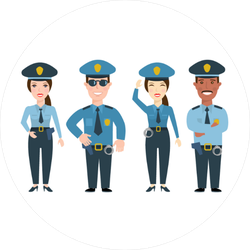 Police Squad Sticker