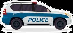 Police Urban SUV Sticker