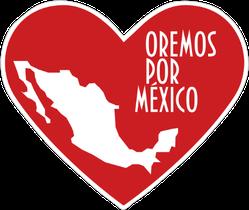 Pray For Mexico Sticker