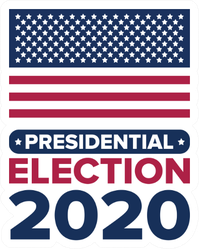 Presidential Election 2020 In United States Sticker