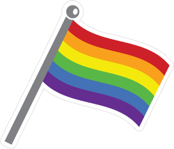 Pride Gay Flag Sticker