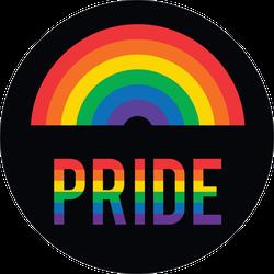 Pride Month Mini Rainbow Sticker