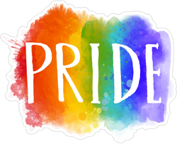 Pride Watercolor Sticker
