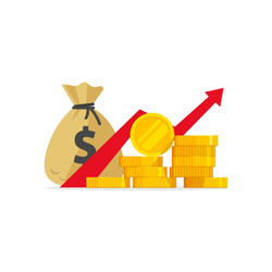 Profit Illustration Sticker