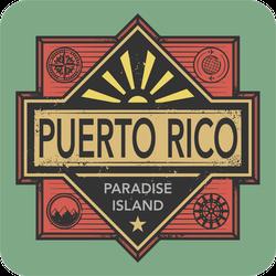 Puerto Rico Paradise Island Sticker