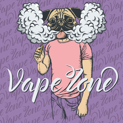 Pug Vape Zone Sticker
