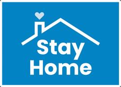 Quarantine Stay Home Sticker