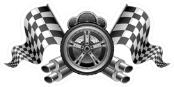 Racing Elements Sticker