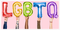 Rainbow Lgbtq Balloons Sticker