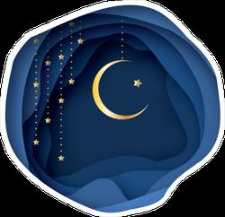 Ramadan Moon Sticker
