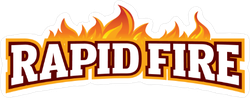 Rapid Fire Sticker