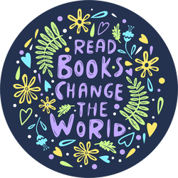 Read Books, Change The World Sticker