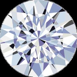 Realistic Diamond Sticker