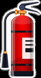 Realistic Fire Extinguisher Sticker