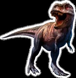 Realistic Tyrannosaurus Rex Sticker