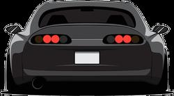 Rear View JDM Racing Car Sticker