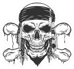 Shrekova bažina - Stránka 2 Retro-illustration-pirate-skull-sticker-1539206840.6345673