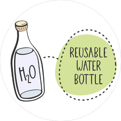Reusable Water Bottles Sticker